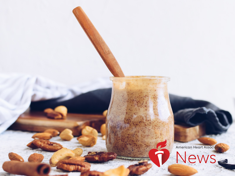 News Picture: AHA News: Nut Butters Are a Healthy Way to Spread Nutrients