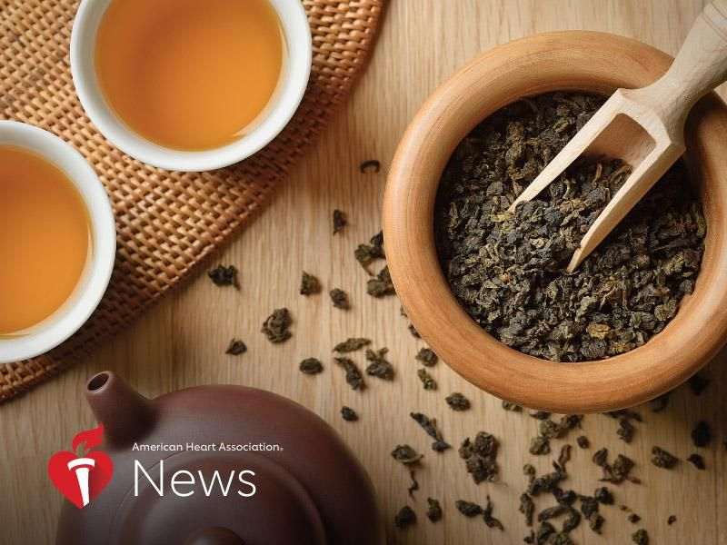 News Picture: AHA News: Teatime Can Be Good for Your Health