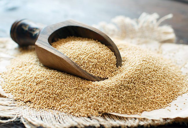 Amaranth is full of vitamins and minerals and it is gluten free.