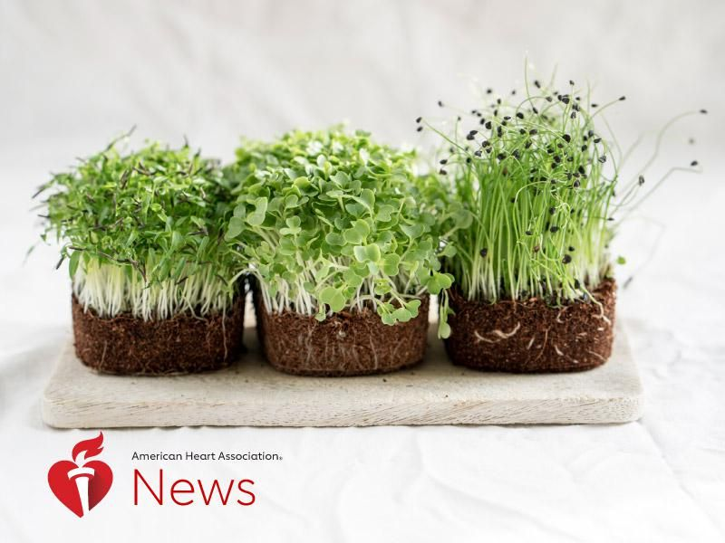 News Picture: AHA News: Trendy Microgreens Offer Flavor You Can Grow at Home