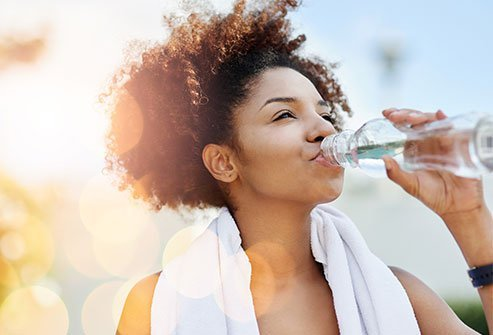 """About 60 percent of the body is made up of water. It forms a major part of the blood. The cells and the body cannot function right if the water levels go down. Drinking cold water often causes """"cold stress"""" in the body."""