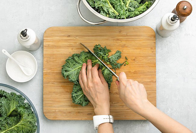 Kale is good for health because it packs nutrition in every bite. Health benefits of kale include a stronger immune system, improved satiety, weight loss, cancer protection and stronger bones and nervous system.